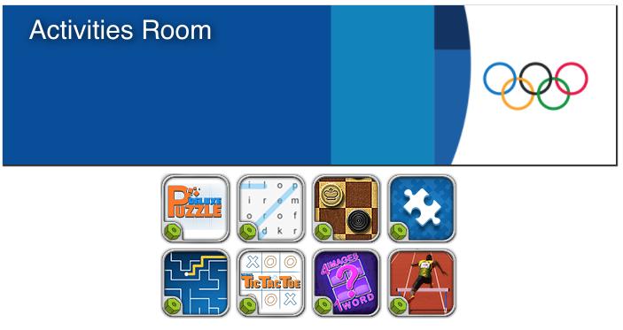 BAR activities room