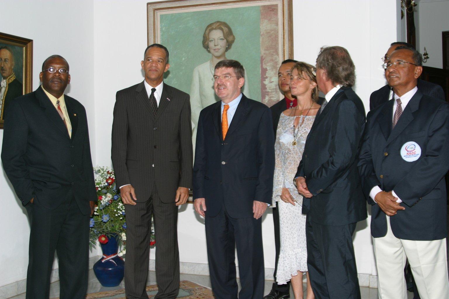 Curacao Re Mr Millerson visit