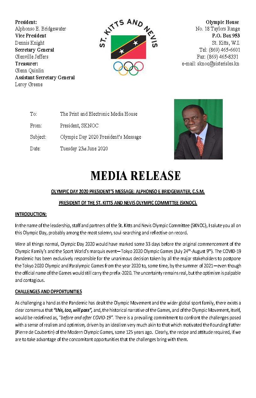 Olympic Day 2020 Message by President Bridgewater_Page_1