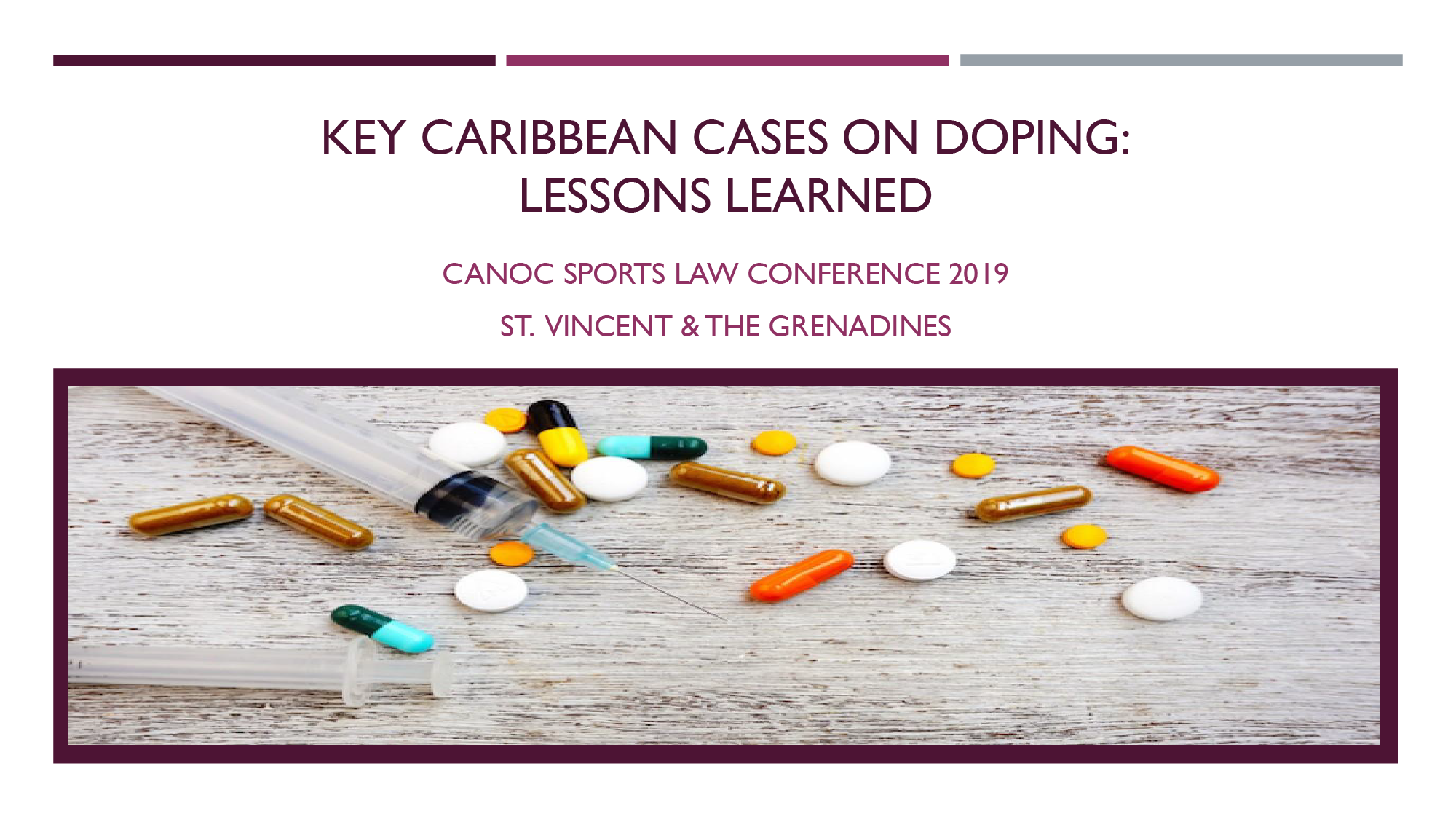 KEY CARIBBEAN CASES ON DOPING