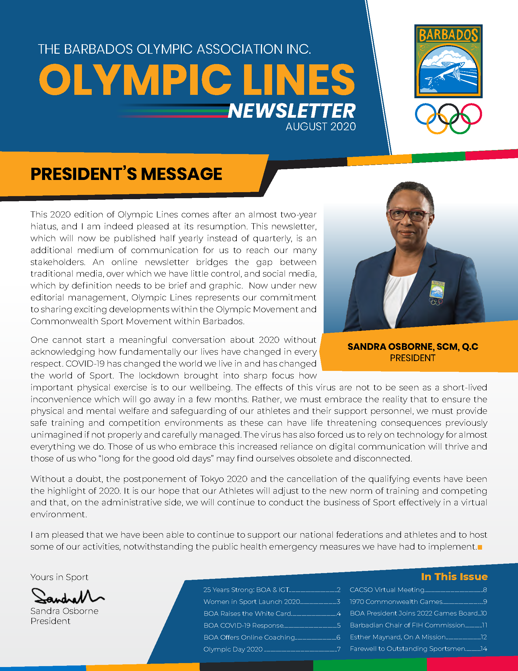 BOA Olympic Lines Newsletter - August 2020_Page_01