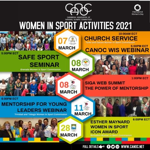 CANOC WIS EVENTS 2021