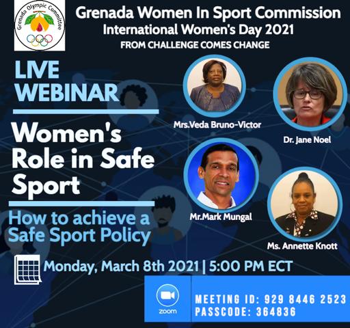 Grenada Women in Sport Comm2019